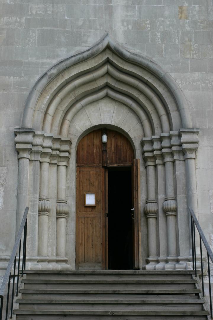 Перспективный портал Спасского собора Андроникова монастыря