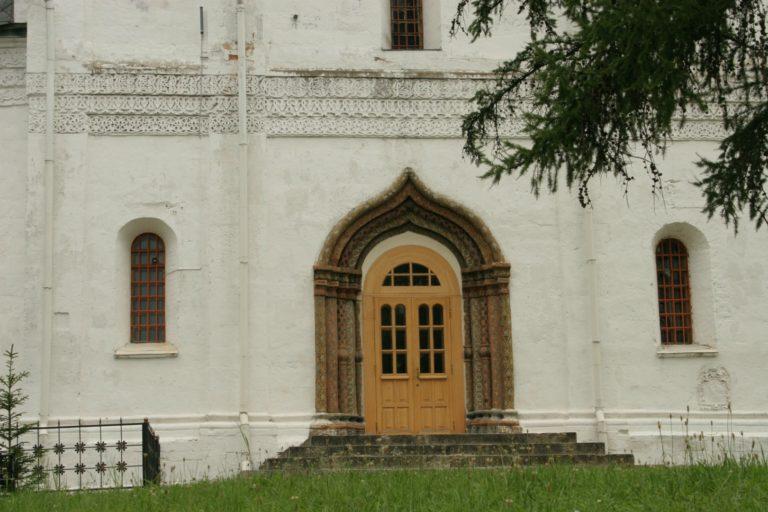 Перспективный портал собора Рождества Богородицы