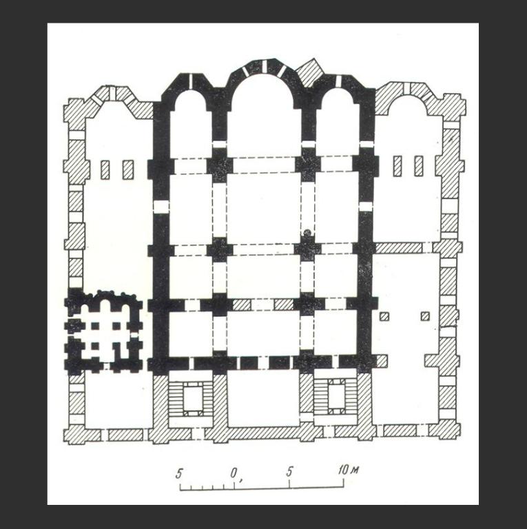 План Успенского собора Киево-Печерской лавры в Киеве