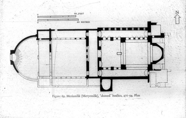 План базилики св. Феклы