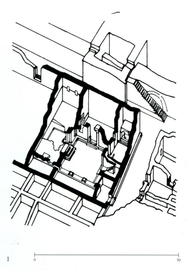 План дома собрания в Дура-Европос. III в.