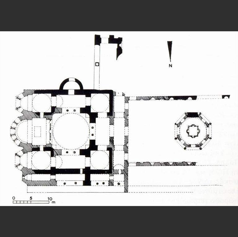 План храма св. Георгия в Манганах, Константинополь