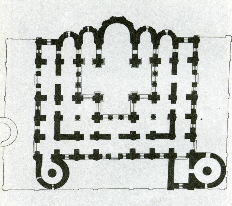План собора Святой Софии в Киеве