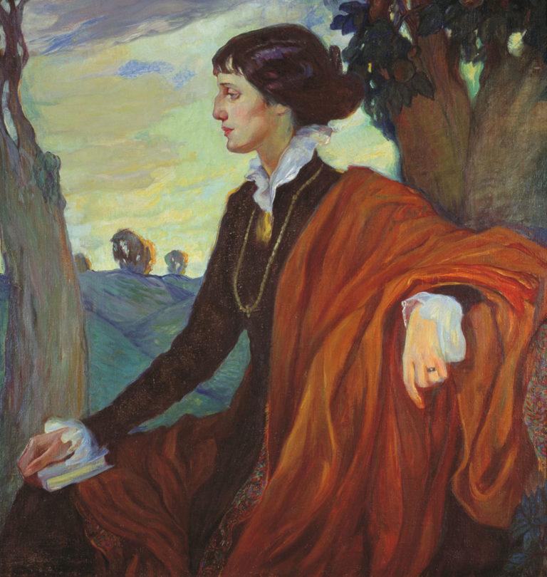 Портрет Ахматовой. 1914