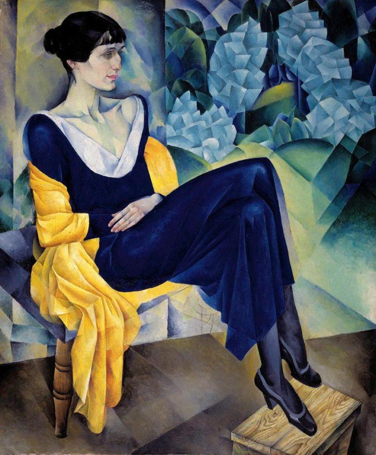 Портрет Анны Ахматовой. 1914