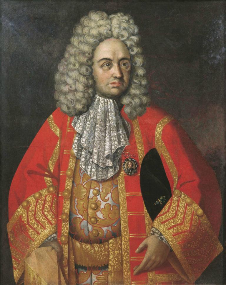Портрет Григория Дмитриевича Строганова. Нач. XVIII в.