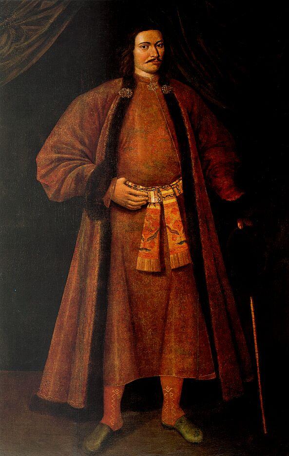 Портрет Льва Кирилловича Нарышкина. Кон. XVII в.