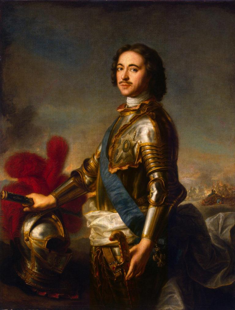 Портрет Петра I. 1717