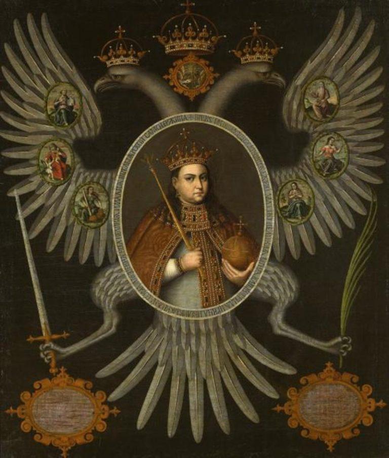 Портрет самодержицы Софьи Алексеевны. 1700