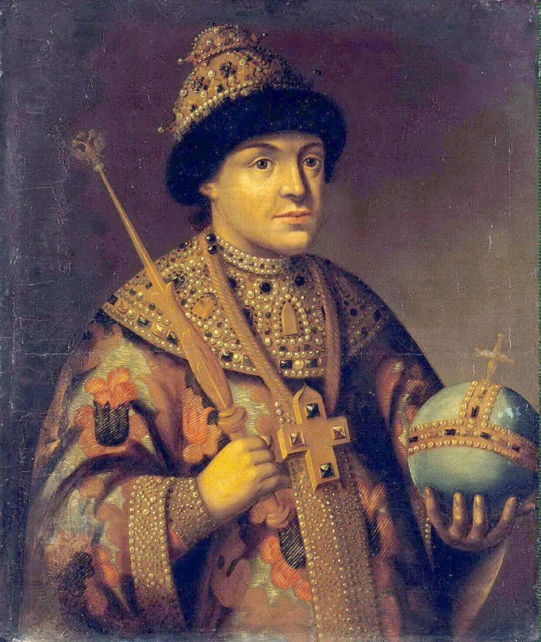 Портрет царя Фёдора III Алексеевича