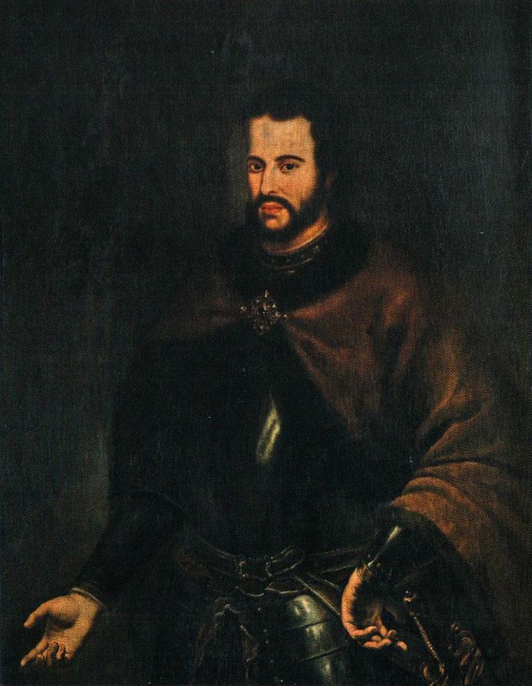 Портрет царя Ивана V Алексеевича. 1696