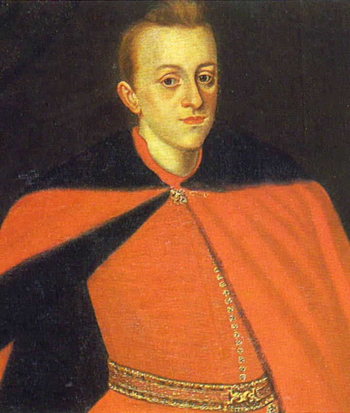 Портрет юного короля Владислава IV. Польша, нач. XVII в.