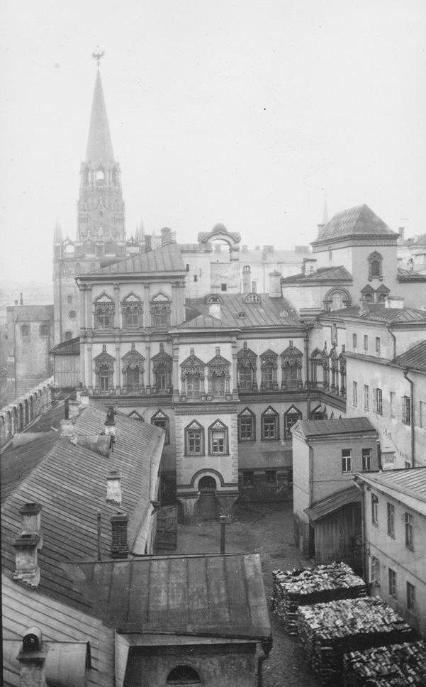 Потешный дворец. 1651