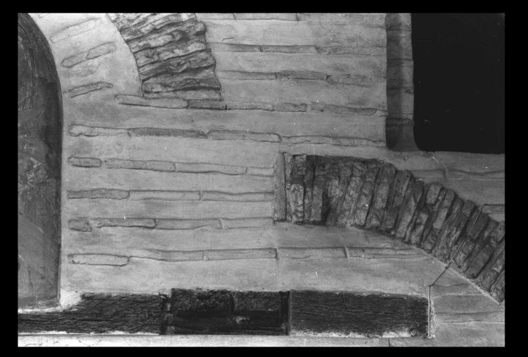 Притвор храма Спаса на Берестове в Киеве. Деталь