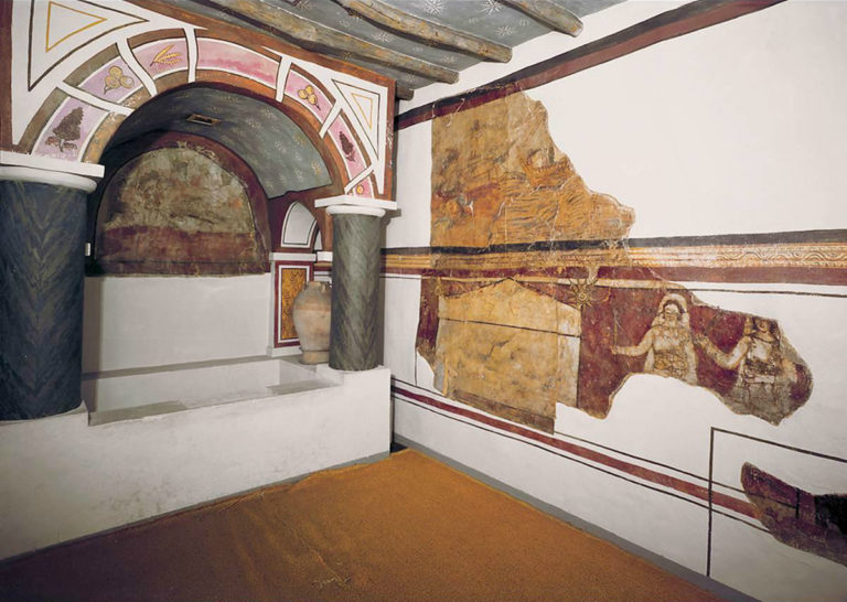 Реконструкция баптистерия дома собрания в Дура-Европос