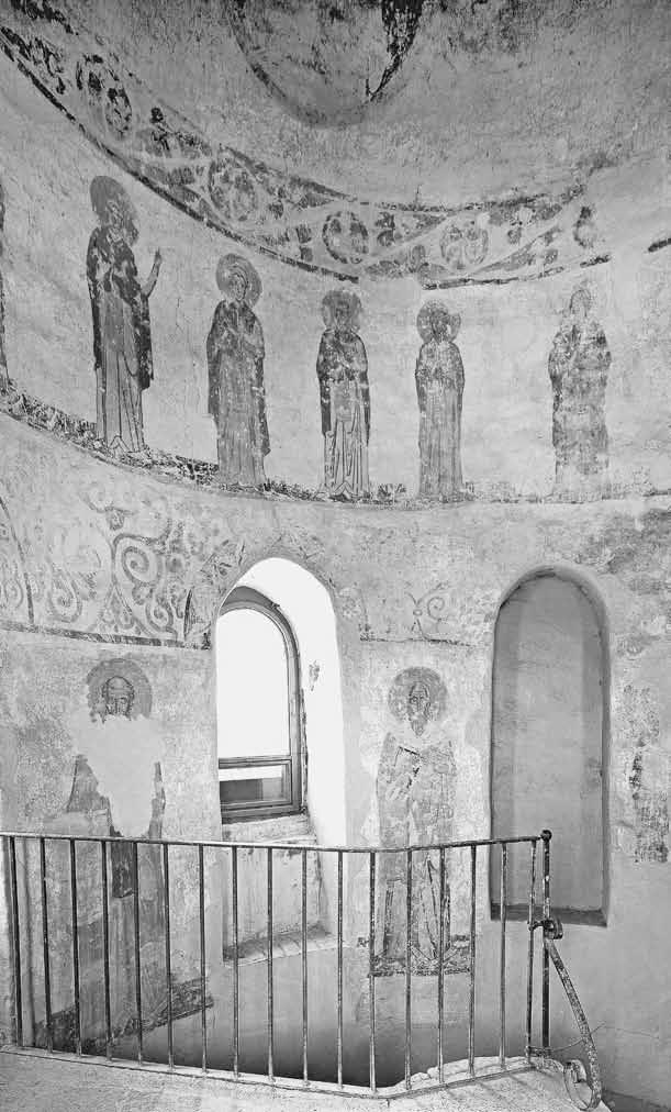 Роспись лестничной башни Георгиевского собора. Ок. 1130