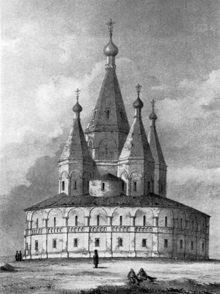 Собор Бориса и Глеба (не сохранился). 1558–1561