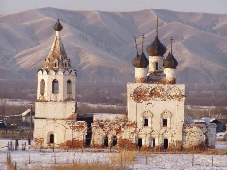 Собор Нерчинского Успенского монастыря. 1706–1712