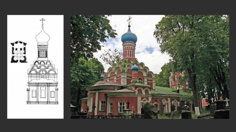 Собор Похвалы Богородицы (Старый). 1591–1592
