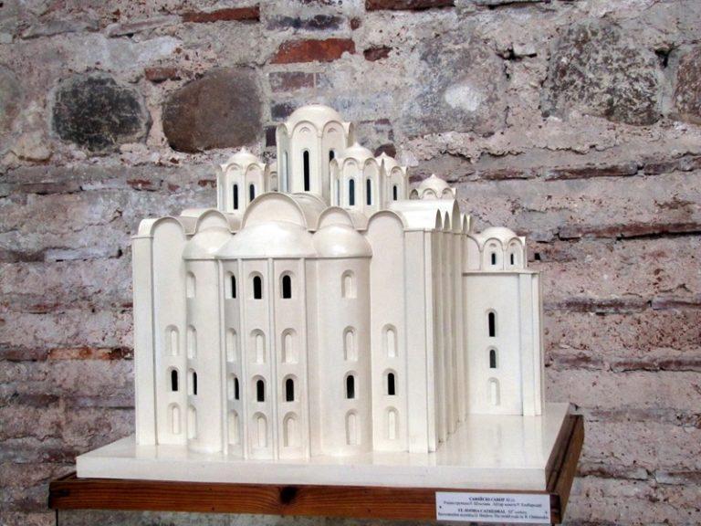 Собор Святой Софии в Полоцке. Макет