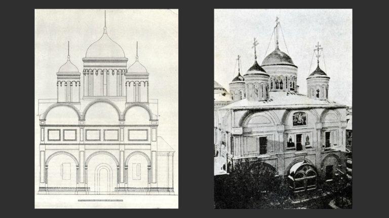Собор Вознесенского монастыря (не сохранился). Ок. 1588