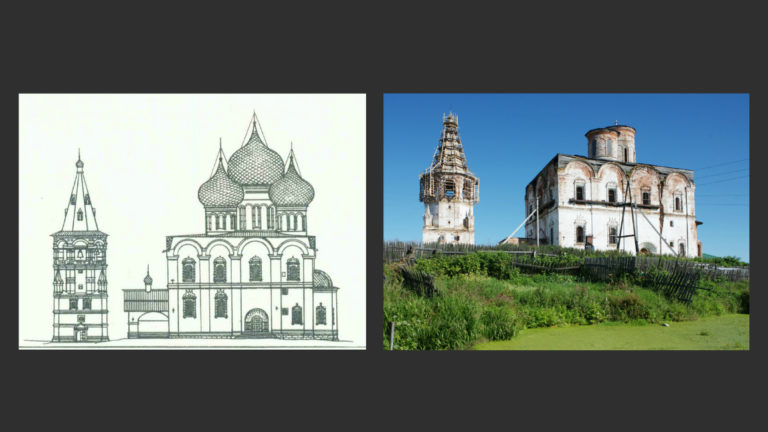 Спасо-Преображенский собор. 1685–1691. Колокольня. 1683–1685