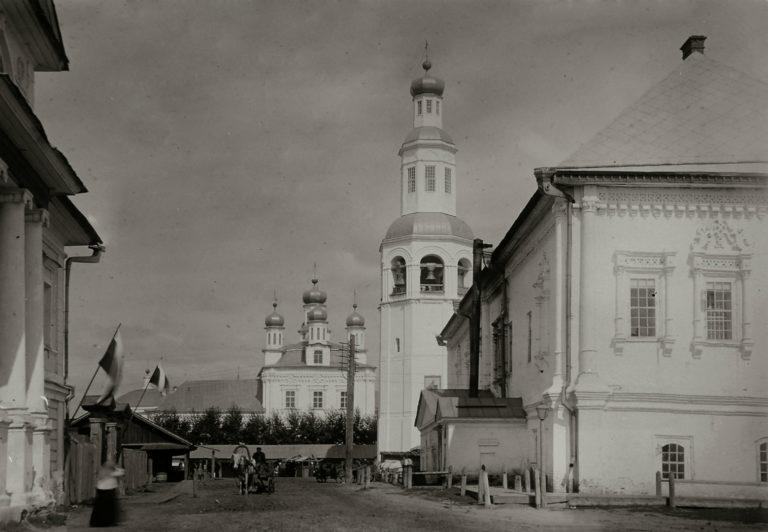 Спасо-Преображенский собор. 1724–1731. Колокольня – 1730. Палаты – 1724