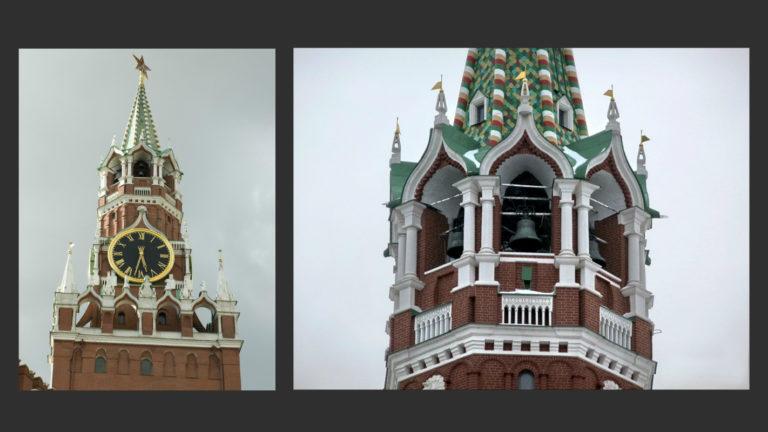 Спасская башня. 1491. Надстройка 1624–1628