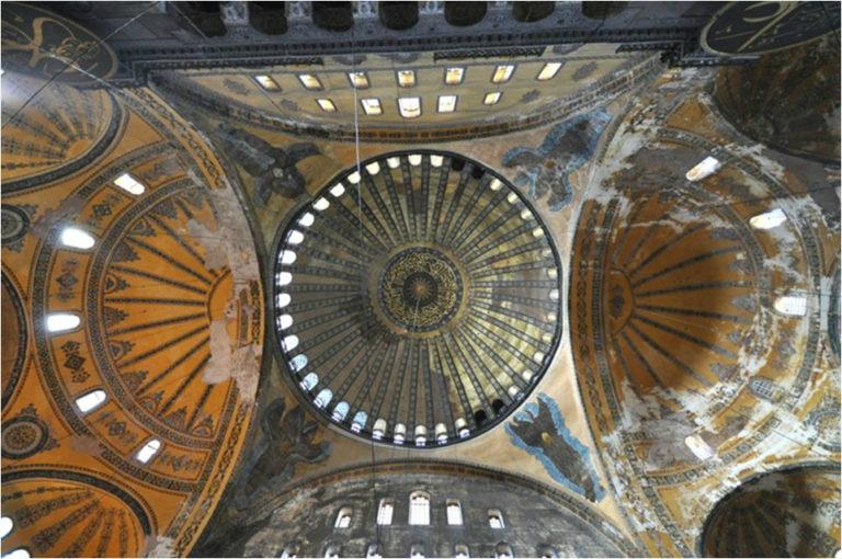 Свод собора Святой Софии, Стамбул