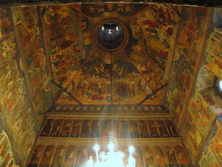 Свод церкви Троицы в Никитниках. Ок. 1631–1634