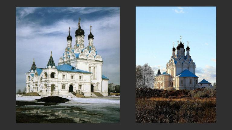 Церковь Благовещения в Тайнинском. 1675–1677
