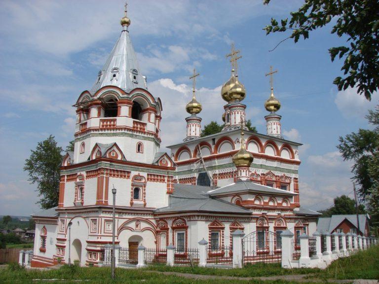 Церковь Богоявления, вид с юго-запада. 1687–1695