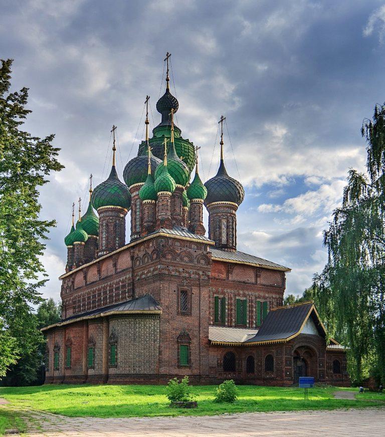 Церковь Иоанна Предтечи в Толчкове. 1671–1687