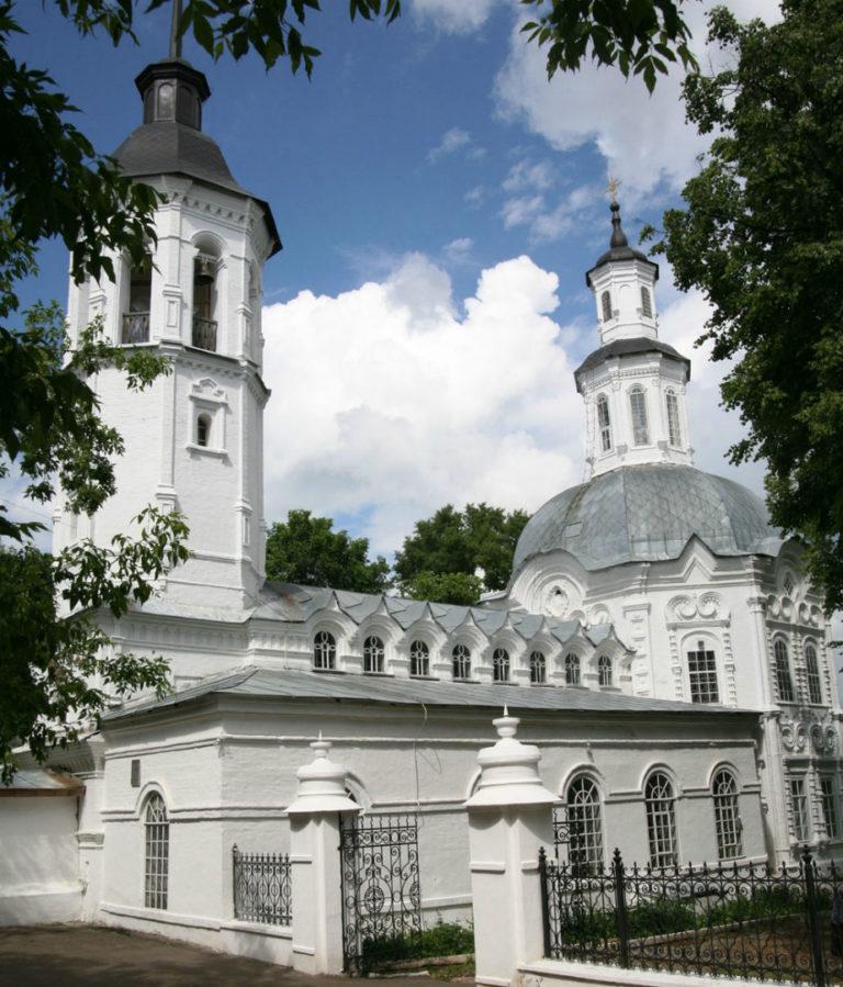 Церковь Иоанна Предтечи. 1714–1723