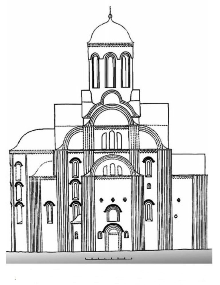 Церковь Михаила Архангела в Смоленске. Северный фасад