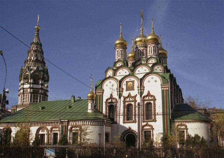Церковь Николая Чудотворца в Хамовниках. 1679–1682