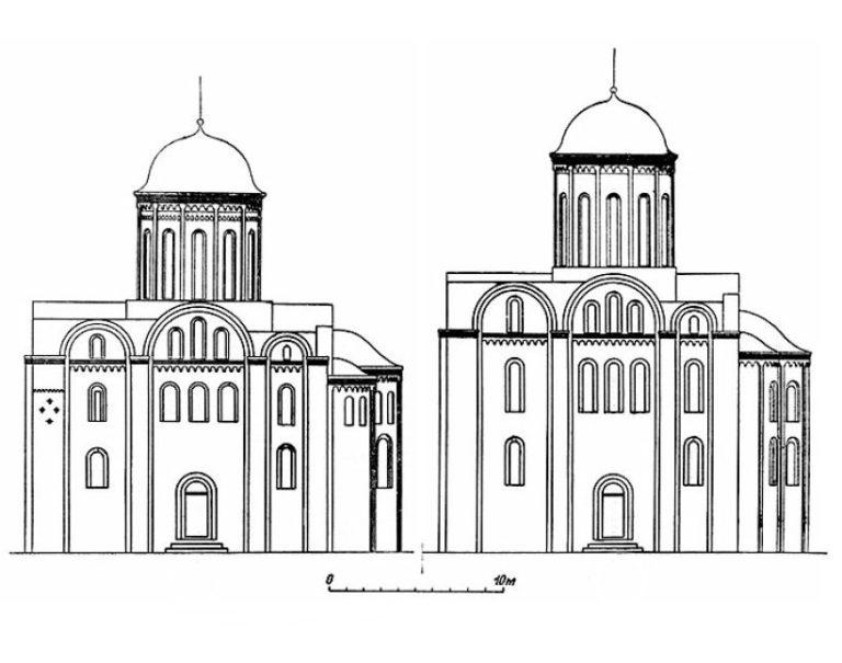 Церковь Петра и Павла на Городянке (1160–1170-е) и церковь Иоанна Богослова (ок. 1173) в Смоленске
