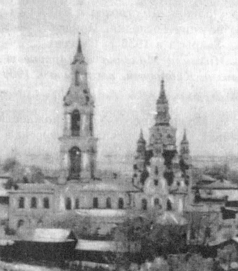 Церковь Покрова (не сохранилась). 1769 – после 1774