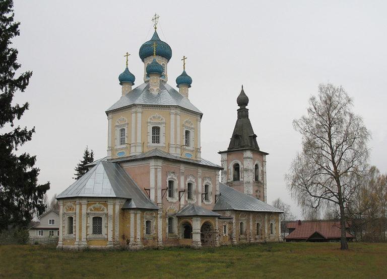 Церковь Преображения. 1756–1770