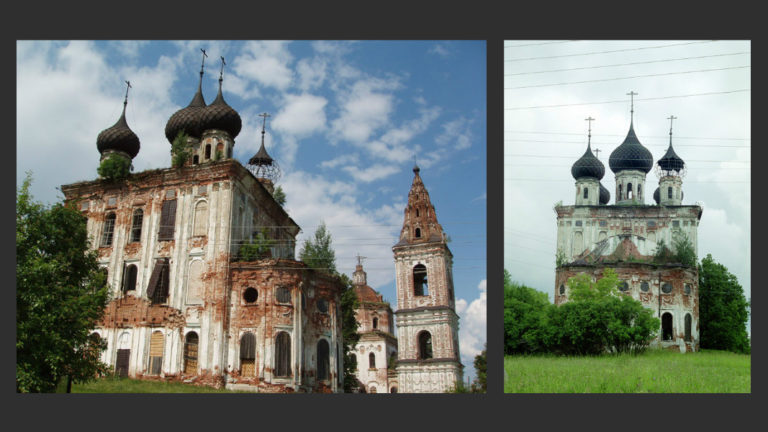 Церковь Рождества Богородицы. 1785–1805