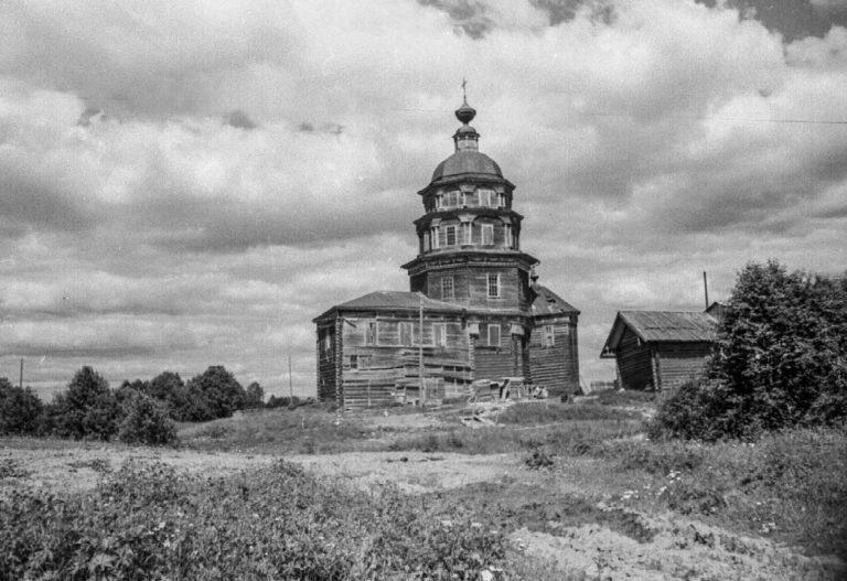 Церковь Рождества Пресвятой Богородицы (не сохранилась). 1783
