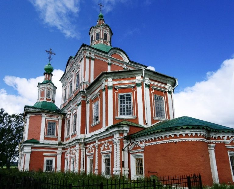 Церковь Симеона Столпника, вид с юго-востока. 1725–1728, 1736–1740, 1757–1765