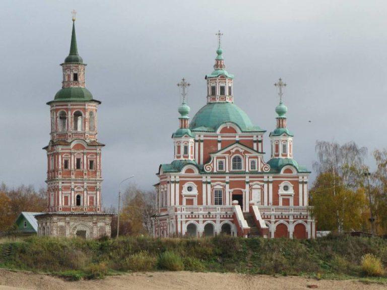 Церковь Симеона Столпника. 1725–1728, 1736–1740, 1757–1765