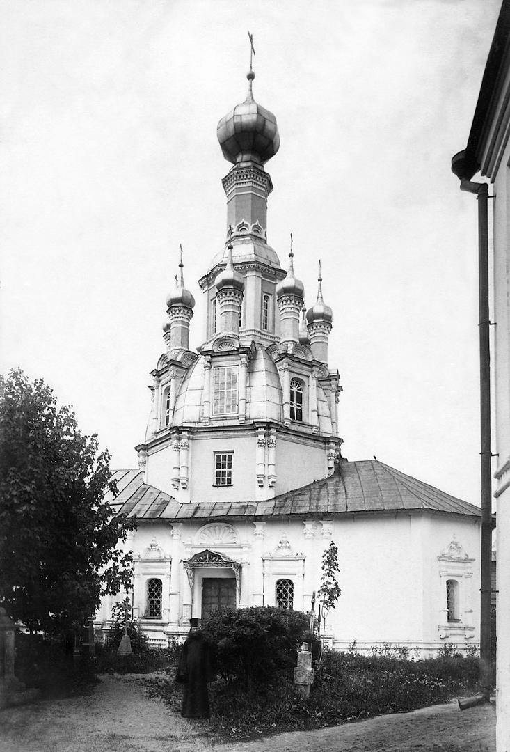 Церковь Спаса Нерукотворного. Нач. XVIII в.