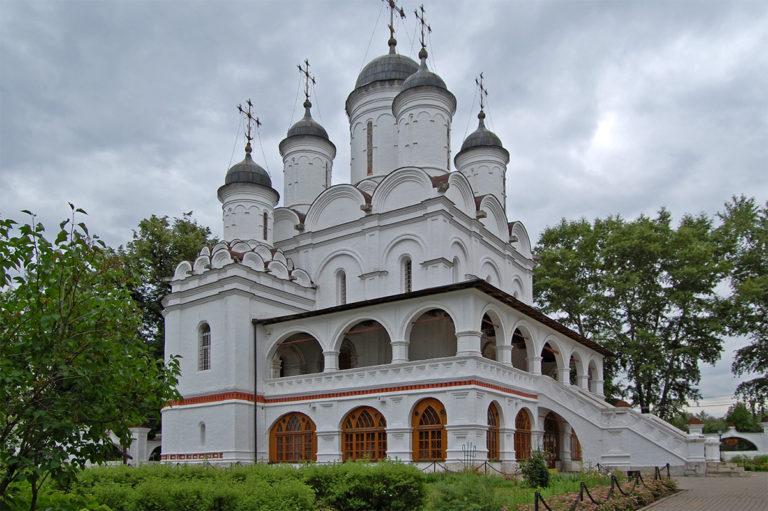 Церковь Спаса Преображения. 1597–1599