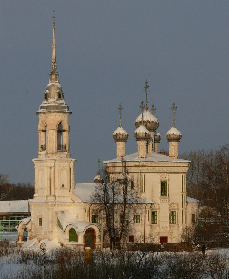 Церковь Сретения на Набережной, вид с юго-запада. 1731–1735