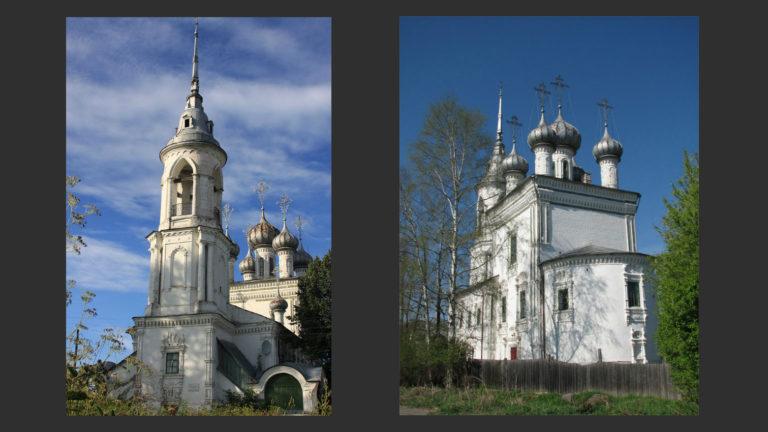 Церковь Сретения на Набережной. 1731–1735
