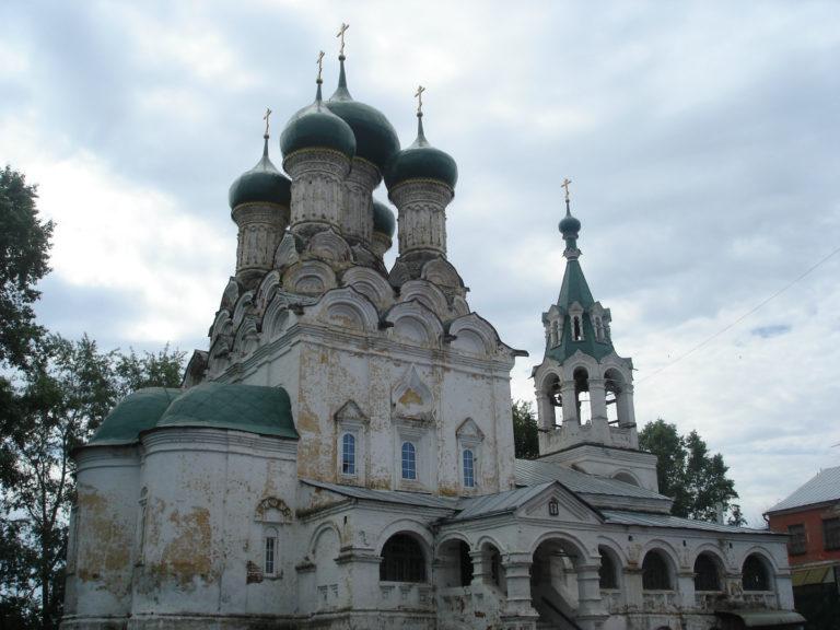 Церковь Успения Пресвятой Богородицы. 1644–1649
