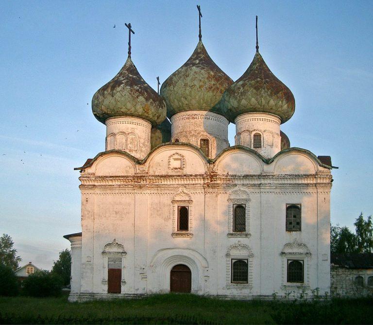 Церковь Воскресения, северный фасад. Кон. XVII в.