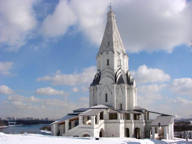 Церковь Вознесения, вид с запада. 1532